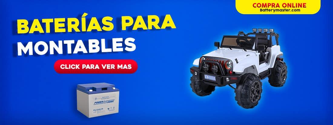 BANNER BATERIAS PARA MONTABLES
